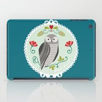 Piccola Damigella Gufo iPad Case