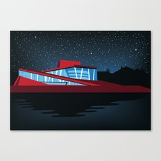 East Norway Illustration Canvas Print