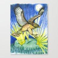 Dorothy's Totem Canvas Print
