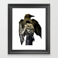 Mocking Bird Framed Art Print