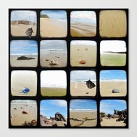 Beach Collective - Through The Viewfinder (TTV) Canvas Print