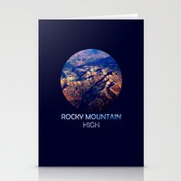 Rocky Mountain High Stationery Cards