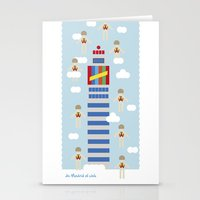 de madrid al cielo Stationery Cards