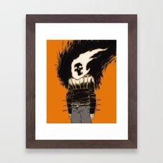 the rider Framed Art Print
