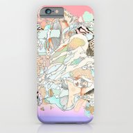 Mushrooms & Horses iPhone 6 Slim Case