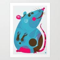 Ratso Art Print