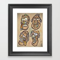 FOURHEADS ARE BETTER THA… Framed Art Print