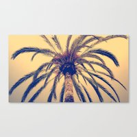Tenerife Palm Tree Canvas Print