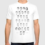 Time May Change Me Mens Fitted Tee White SMALL