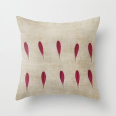 Ten Throw Pillow