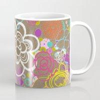Dancing Flowers Mug
