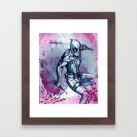 The Merc with the Mouth.  Framed Art Print