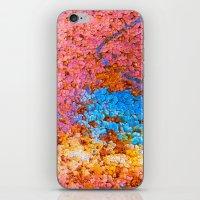 Colorful cracks iPhone & iPod Skin