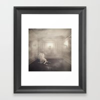 the dreaming room Framed Art Print
