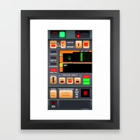 Tricorder Framed Art Print