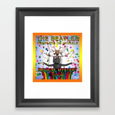 Magical Mystery Tour Framed Art Print