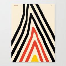 Goodbye Mountain — Matthew Korbel-Bowers Canvas Print