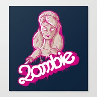 UNDEAD TOY Canvas Print