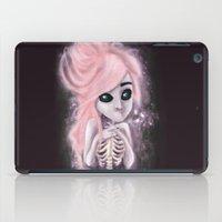 aliena skeleton iPad Case