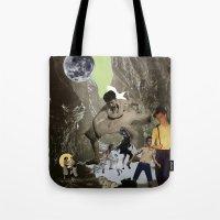 Dancing Cave Tote Bag