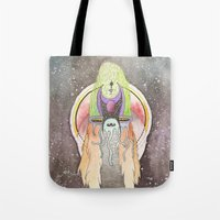 Knight Of Dimensions Tote Bag