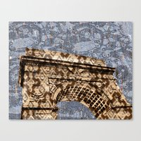 Washington Square Arch Canvas Print