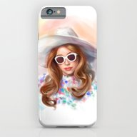 iPhone & iPod Case featuring Mother Monster In  LA by Annike
