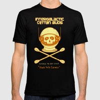 Intergalactic Cotton Bud… Mens Fitted Tee Black SMALL