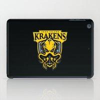 Iron Island Krakens iPad Case