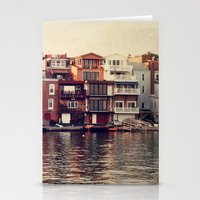 the lake. Stationery Cards
