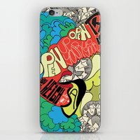 Animal Collective iPhone & iPod Skin