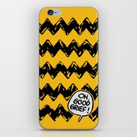 CHARLIE CHEVRON iPhone & iPod Skin