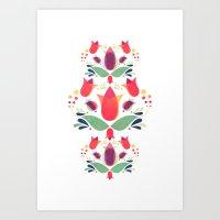 Gardens Of V Art Print