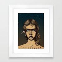 Nocturnal Warrior Framed Art Print