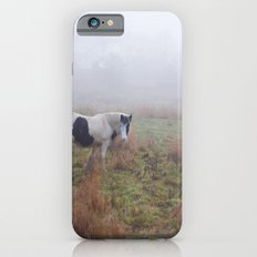 Black and White Horse iPhone 6s Slim Case