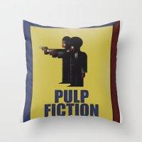 CASSANDRE SPIRIT - Pulp Fiction Throw Pillow