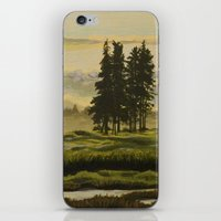 Maine Marsh 1 iPhone & iPod Skin
