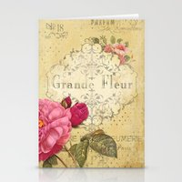 Paris Perfumery Stationery Cards