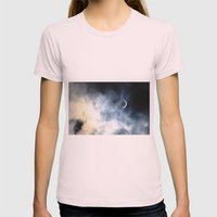 Eclipse 1999 Womens Fitted Tee Light Pink SMALL