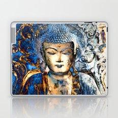 Inner Guidance - Blue Buddha Zen Art Laptop & iPad Skin