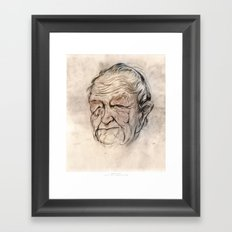 Andrew Wyeth Portrait Framed Art Print