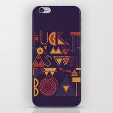 Row That Boat iPhone & iPod Skin