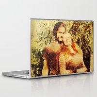 Laptop & iPad Skin featuring THE 70'S by Lazy Bones Studios