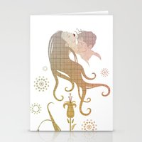 Blinded by selfishness Stationery Cards