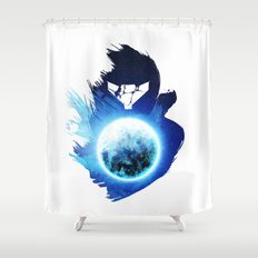 Metroid Prime 3: Corruption Shower Curtain