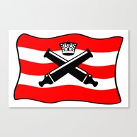 The Imperial Guards Canvas Print