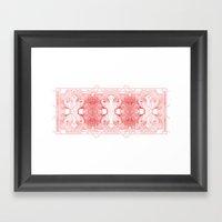 The Willow Pattern (Rose… Framed Art Print