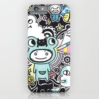 iPhone & iPod Case featuring Adventure Remix by Yuka Nareta