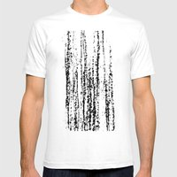 Birch Winter Mens Fitted Tee White SMALL