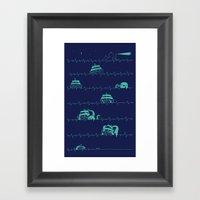 Sea of the Death Framed Art Print